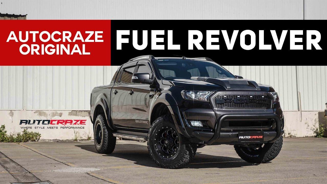 Ram 1500 Side Steps >> ANDREA'S REVOLVING BEAST 🔫 // Ford Ranger Wheels & Tyres | AutoCraze 2017 - YouTube