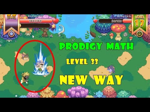 Prodigy Math Game New Way To Play Level 33 Part 17