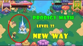 Prodigy Math Game: New Way To Play | Level 33 | Part 17 - Games For Childrens