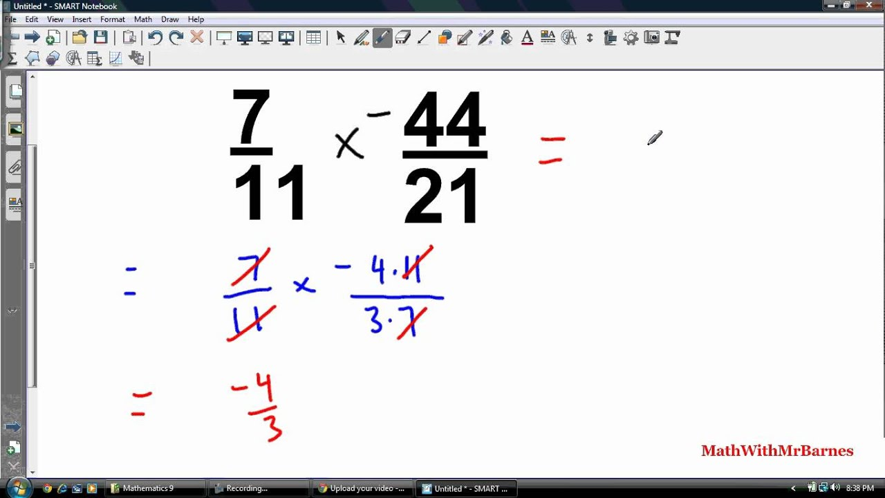 worksheet Multiplying Rational Numbers Worksheet math 9 multiplying and dividing rational numbers youtube