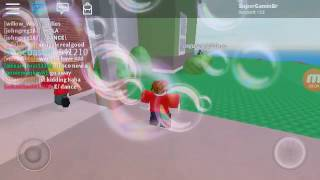 SGB: my roblox friend joined the game :D (Roblox)
