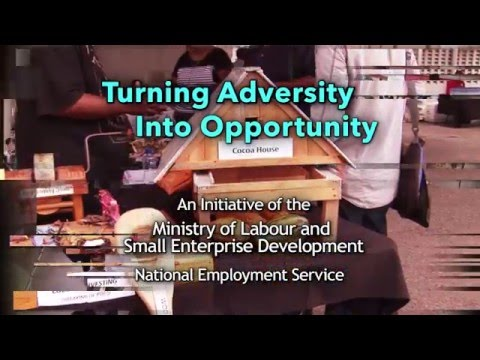 Turning Adversity into Opportunity - Eric Poliah of NES speaks on the Empowerment and Job Expo