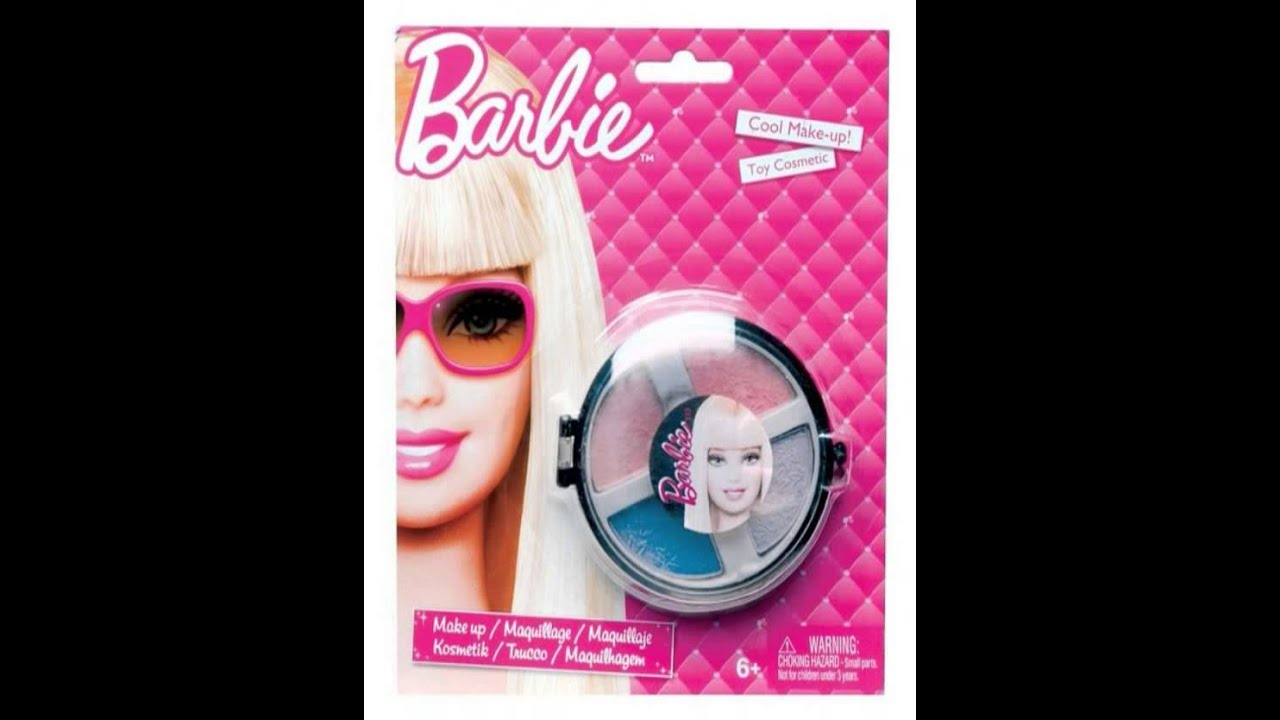 Barbie Makeup: Barbie Makeup Case With Makeup