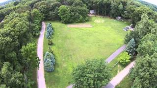 test flight of dji droin