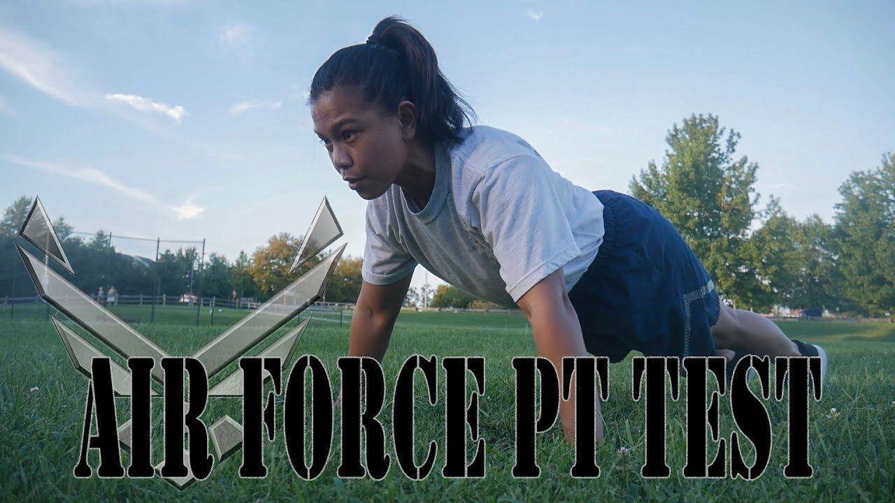Air Force PT Standards | How to Prepare | MALES & FEMALES