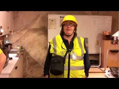 4000 Feet Below Ground: Zinkgruvan Mining Complex Part 02: Break Room At 1200 Feet.