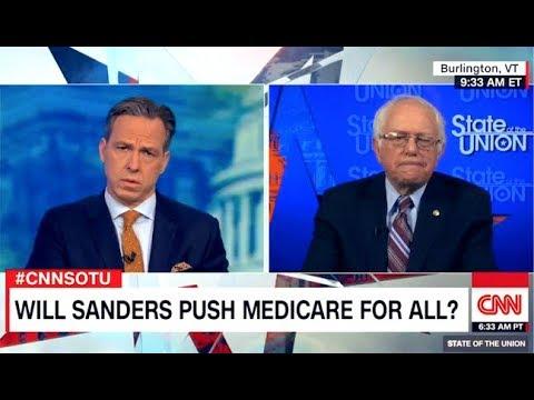 How CNN Deceives Americans About Single-Payer: Bernie Sanders Vs. Jake Tapper