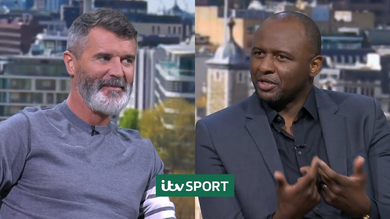 Roy Keane and Patrick Vieira best bits from France v Germany | ITV Sport
