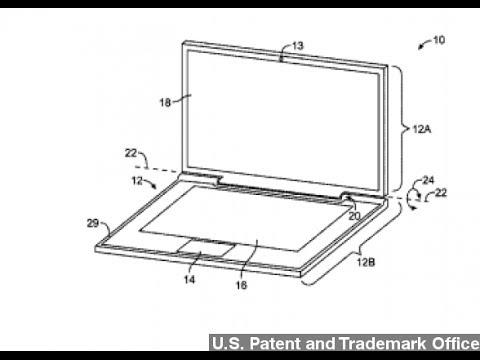 Apple Granted Patent For Solar-Powered, Dual-Screen Laptop