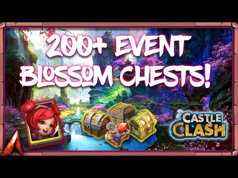 200+ Blossom Trees On Main! Castle Clash
