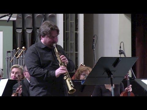 Arvydas Malcys. Concerto for soprano saxophone and symphony orchestra (2004)
