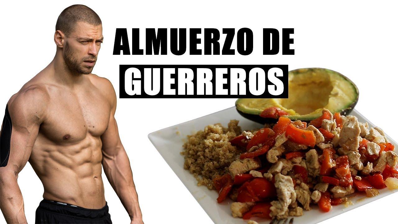 comidas para el aumento de masa muscular