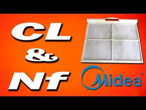 Código CL e Nf Midea.