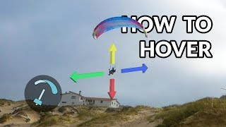 How to Hover on a Paraglider - BANDARRA