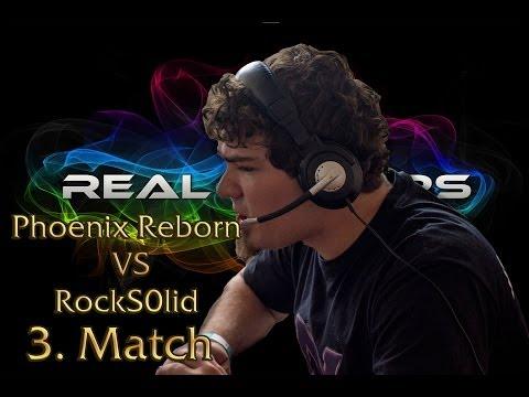 Real Gamers LAN: Phoenix Reborn vs RockS0lid 3. Match