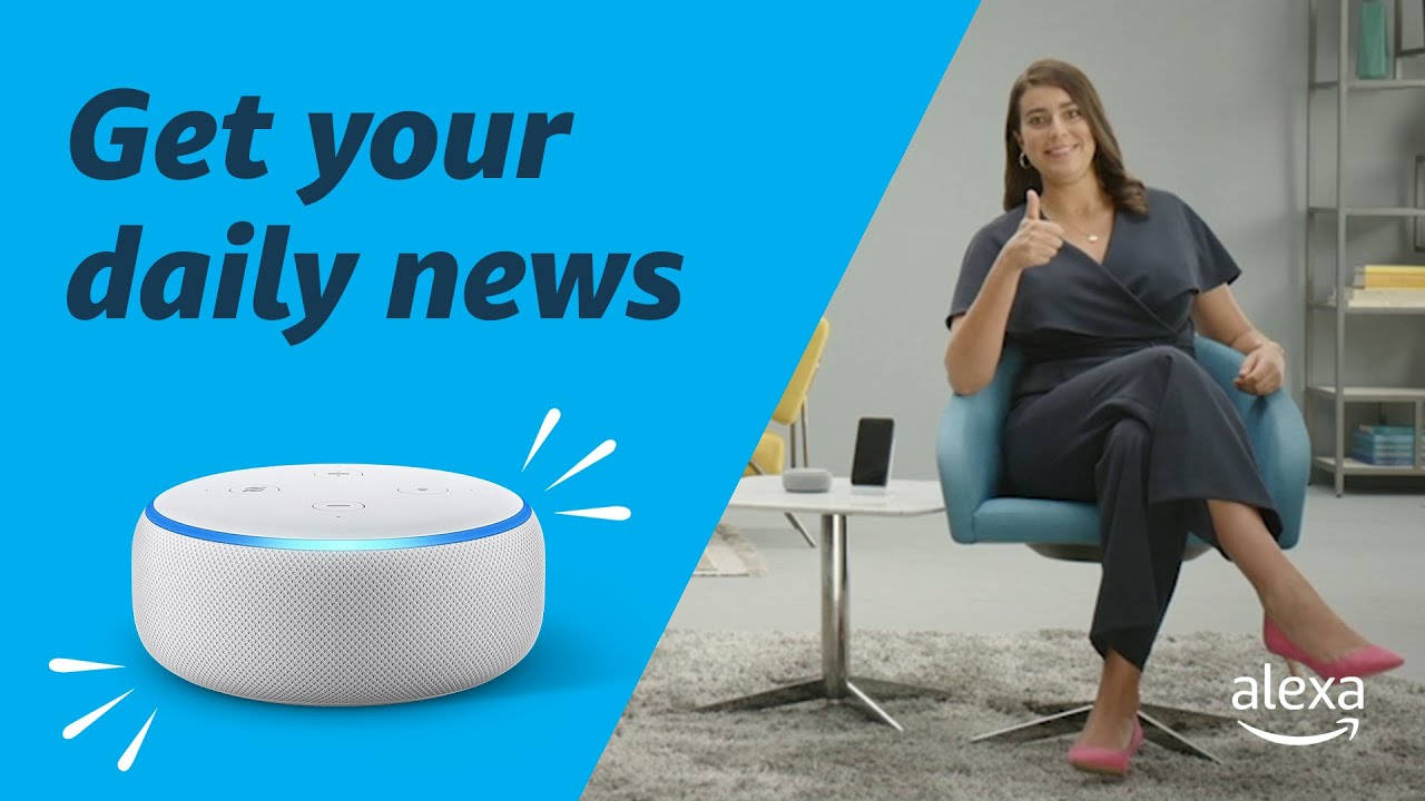 Get your Daily News with Alexa | Amazon Echo
