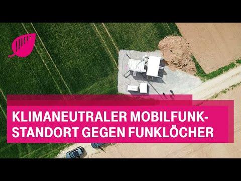 Social Media Post: Klimaneutraler Mobilfunk-Standort gegen Funklöcher