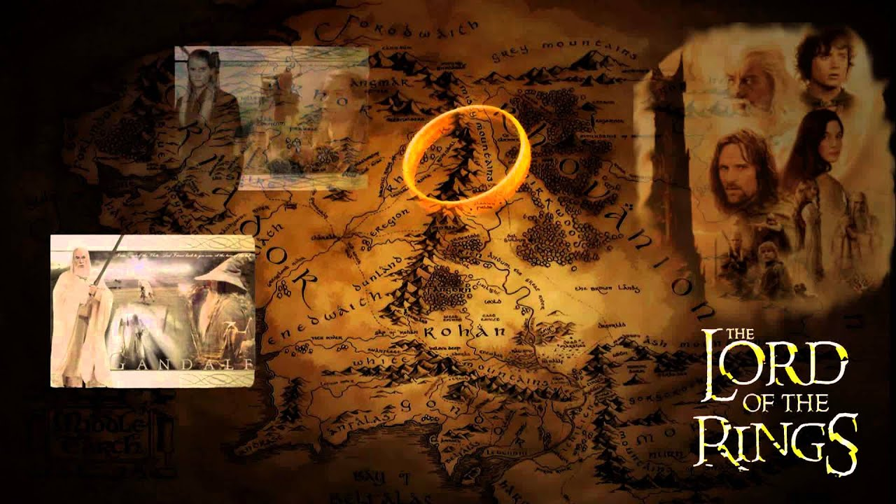 LOTR (Lord of the Rings) animated wallpaper for Windows Dreamscene - YouTube