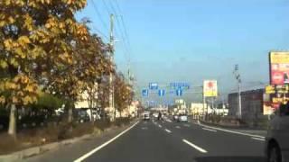 国道5号(1b)放射1号線(赤松街道)[函館市 七飯町]