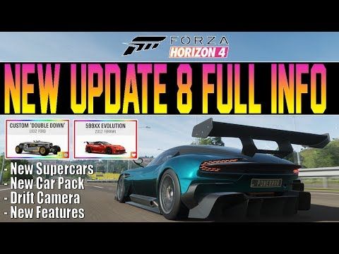 Forza Horizon 4 - NEW UPDATE FULL INFO! New Car Pack, Supercars, Drift Camera & More! thumbnail