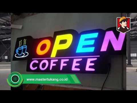 Jasa Advertising Neon Box berpengalaman