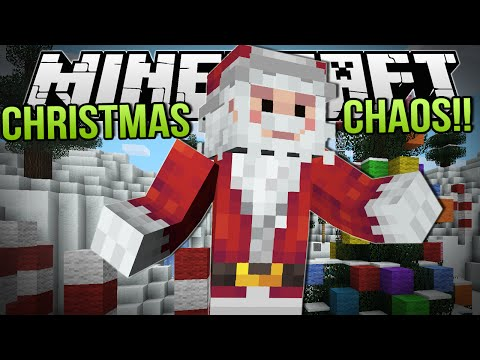 CHRISTMAS CHAOS IS BACK!! | Minecraft: Minigame