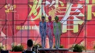 杂技-柔术造型-湖南省杂技团-2015葡萄牙欢乐春节活动