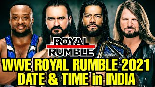 WWE Royal Rumble 2021 Date and Time in India! WWE Royal Rumble 2021 Date & time in Hindi