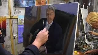 Игорь Сахаров, как приступить к мужскому портрету