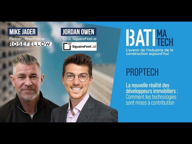 Nouvelles technologies et révolution dans l'industrie immobilière  Batimatech  | Proptech