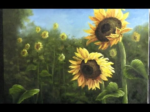Paint with Kevin Hill - Field of Sunflowers