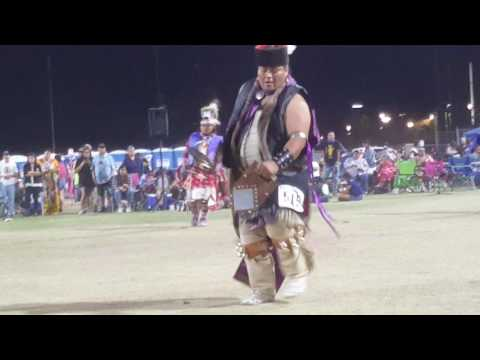 2017 ASU Powwow Men's Southern Straight Trot Song