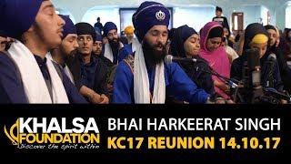 Bhai Harkeerat Singh - gun gaavaa din rain etai kam laae - KC17 Reunion GNG Smethwick 14.10.17