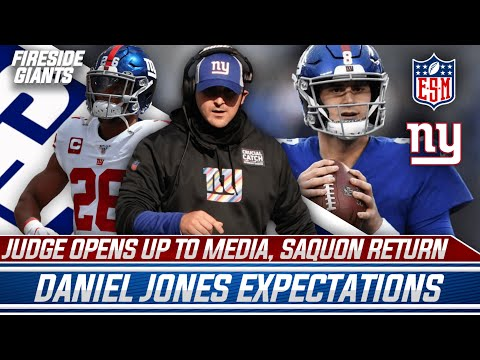 NEW YORK GIANTS TRAINING CAMP IS HERE! LET'S GET HYPED