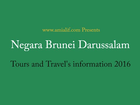 Brunei tours and travels information 2016