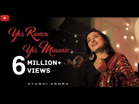 Yeh Raaten Yeh Mausam | Female Cover Ft. Ayushi Arora | Kishore Kumar | Asha Bhosle