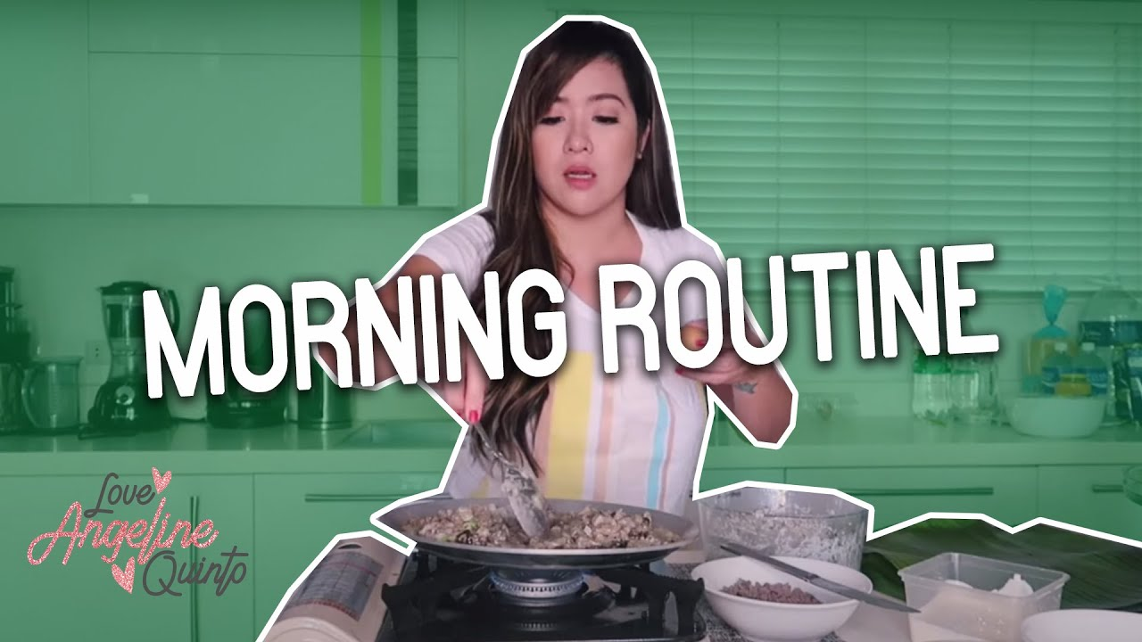 MORNING ROUTINE WITH MAMA BOB | Angeline Quinto