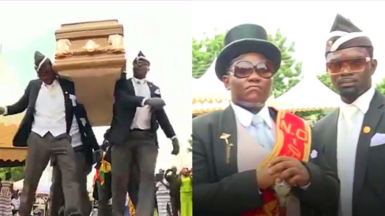 Funniest African Dancing Funeral Meme Full Video Dance Youtube