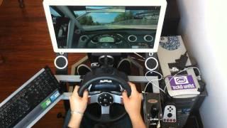 iracing ford mustang fr500s drifting lap at okayama