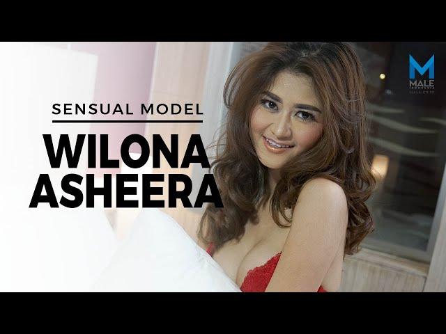 Membuka Sensualitas WILONA ASHEERA Model Seksi Bertubuh Ramping  -  Male Indonesia