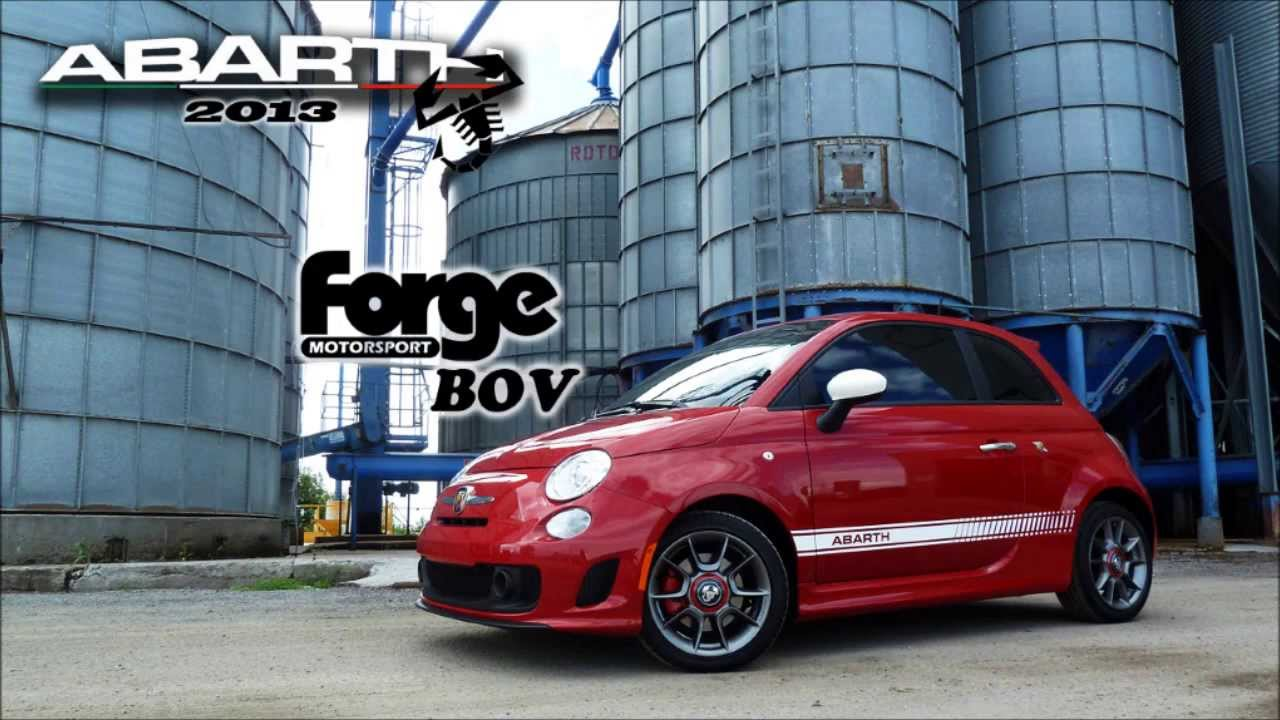 2013 fiat abarth forge motorsport blow off valve! - youtube