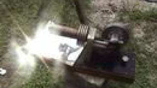 Stirling Engine Solar Power from a Fresnel Lens and the Sun