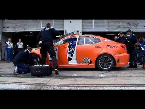 Toyota Motorsport Lexus IS F Impressionsvideo VLN Nürburgring Nordschleife 2011