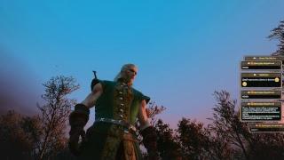 Ведьмак 3: Дикая охота. На смерть! + хард-моды. 033 - Вампир, доброе дерево и ведьмы-красотки