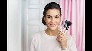 Видеоурок макияжа: три кисти для идеального тона
