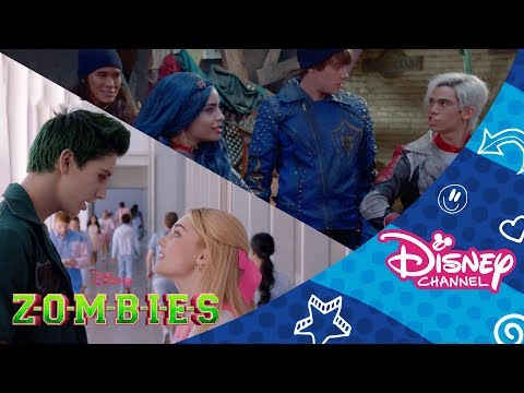 ZOMBIES | Someday / Chillin Like a Villain Mash Up | Official Disney Channel Africa
