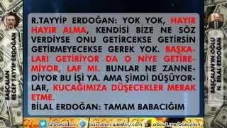 Tayyip Erdoğan İş Adamlarından Rüşvet Alma Ses Kaydı | Yeni Kayıt | Başçalan