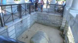 Happy Thanksgiving from Plymouth Rock in Plymouth, Massachusetts USA