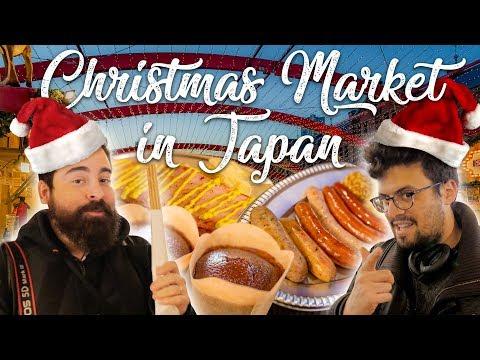 German CHRISTMAS MARKETS in Japan! | Yokohama, Kanagawa prefecture [4K]