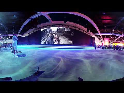 E3 2018 4K 3D 360° VR : PlayStation : join us for The Last Of Us Part II trailer